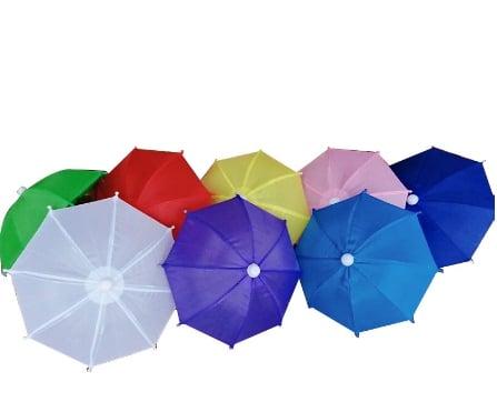 手機小雨傘。(松果購物提供)