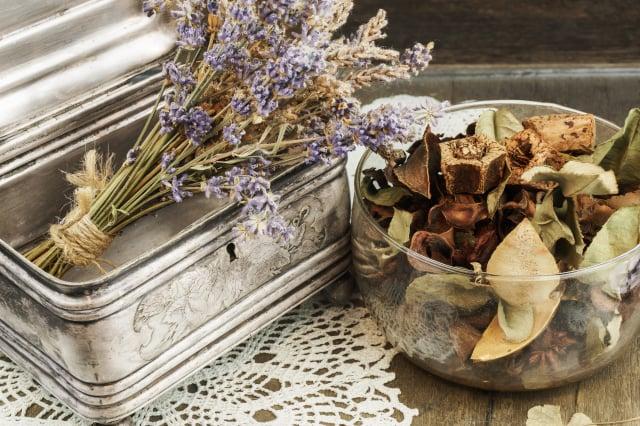 薰衣草乾燥花。(Shutterstock)