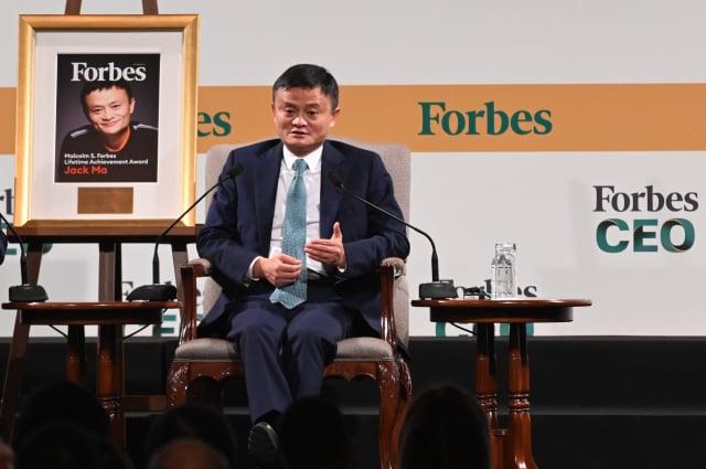 中國企業家馬雲創辦的「阿里巴巴」正面臨反壟斷調查,且「螞蟻集團」也遭二次約談。(ROSLAN RAHMAN/AFP via Getty Images)