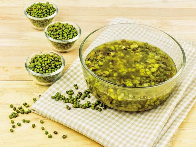 綠豆清血熱。(Fotolia)