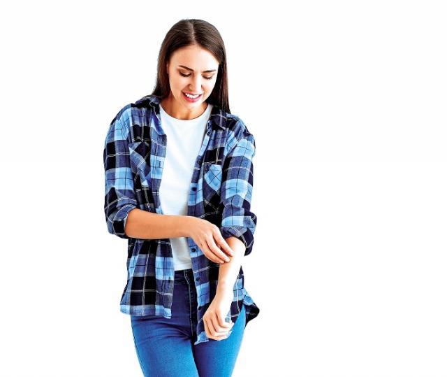 面對皮膚出現的不舒適困擾,中醫有一些妙方能改善。(Shutterstock)