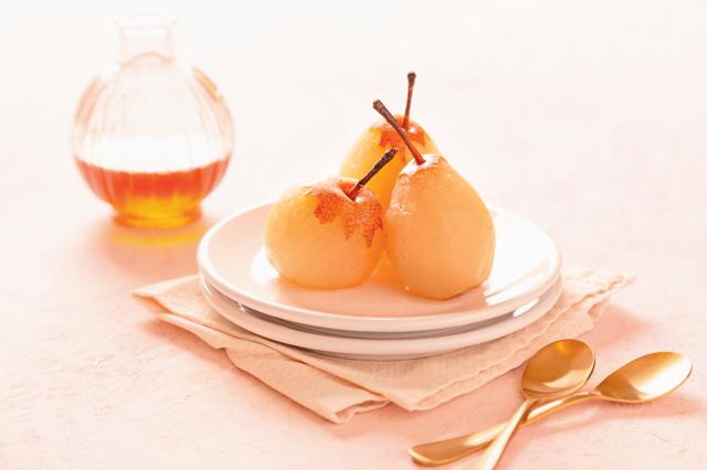 川貝麥芽燉梨汁。(Shutterstock)