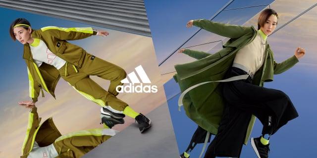 adidas全新Future of Sportswear運動風格系列服飾。(adidas提供)