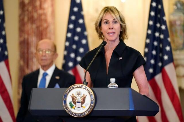 美國駐聯合國大使克拉夫特(Kelly Craft)將訪問臺灣。(PATRICK SEMANSKY/POOL/AFP via Getty Images)