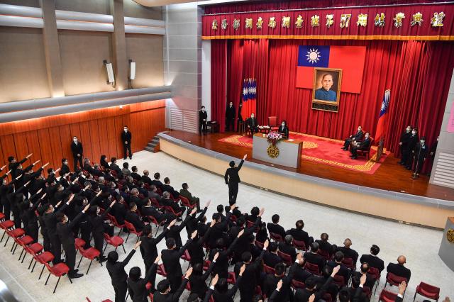 調查局7日舉行「調查班第57期」結業典禮,共有93人順利結業。(中央社)