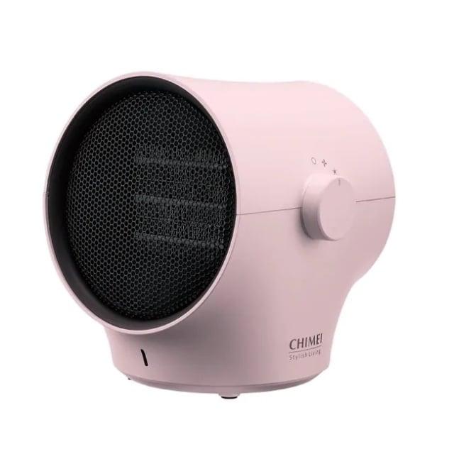 CHIMEI奇美枝椏陶瓷電暖器櫻花粉。(屈臣氏提供)