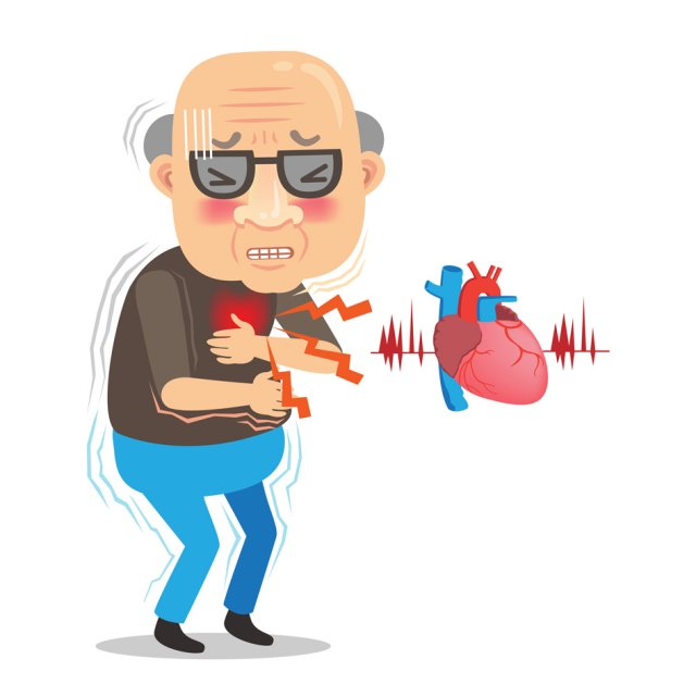 冷天更易受影響,心血管疾病復發的風險相對較高,可能會誘發心肌梗塞的發生而致命。(123RF)