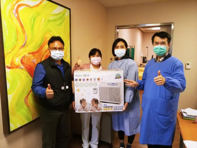 桃園療養院全面再升級,減少病毒經由環境及空氣傳播,提供到院就醫民眾安心、舒適的就醫優質環境。(桃園療養院 提供)