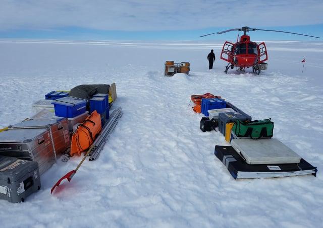 格里舍姆在南極洲遺失了一個錢包,沒想到在53年後,他終於尋回了這個錢包。圖為南極洲。(AFP PHOTO)