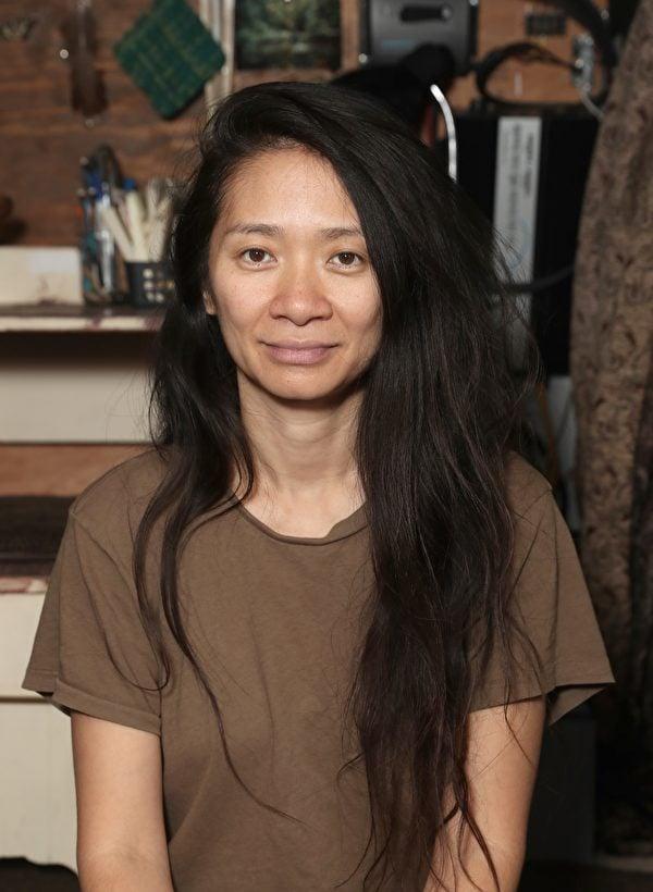 《游牧人生》導演趙婷(Chloé Zhao)。(探照燈影業提供)