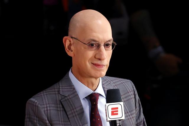 NBA總裁席佛,圖為資料照。(Kevin C. Cox/Getty Images)