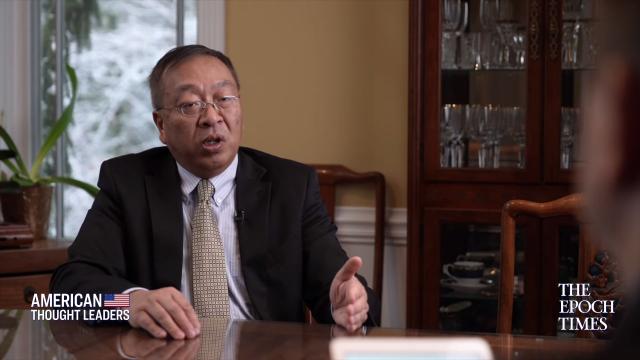 前美國國務卿蓬佩奧的中國顧問余茂春資料照。(大紀元)