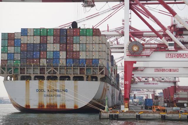 臺灣去年出口金額3,452.8億美元創下歷史新高。(中央社)