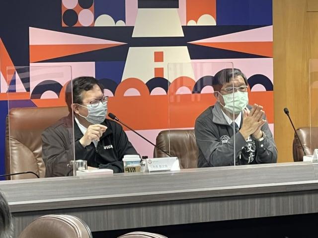 桃園市長鄭文燦主持急救責任醫院討論會議。(桃園衛生局提供)