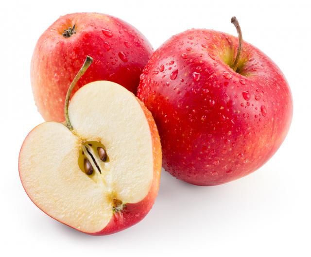 蘋果富含槲皮素及DHBA,可促進腦細胞增長,預防失智症。(123RF)