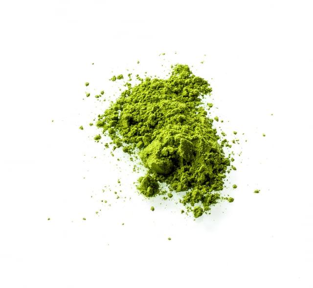 綠茶粉。(123RF)