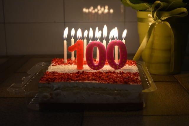 美國賓州女子舒斯特(Ruth Shuster)剛過完100歲生日。(Pixabay)