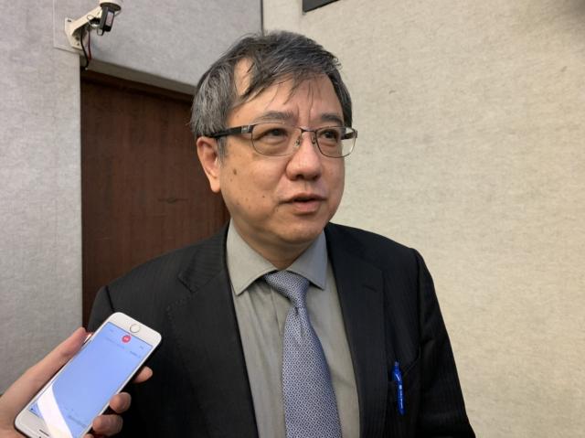 中經院大陸經濟所研究員兼所長劉孟俊表示,臺灣應慎防對岸挖角半導體相關人才。(記者賴意晴/攝影)