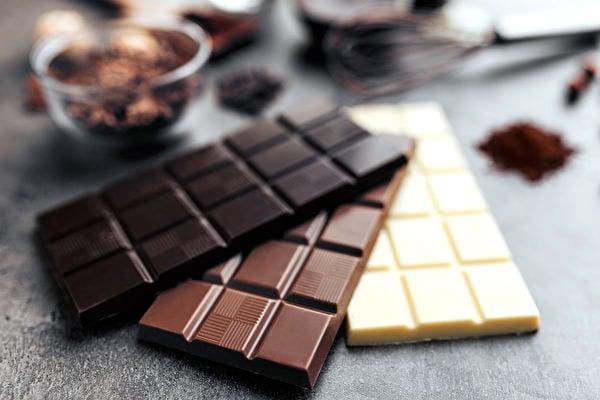 市售的巧克力種類越來越多,到底哪一種對健康最有好處。(Shutterstock)