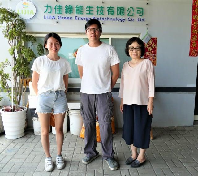 臺灣的養殖技術外流的問題,力佳綠能生技總經理陳建翰(中)表示,臺灣有太多中小企業,創造出無數的隱形冠軍,卻缺少全球布局的獨角獸。