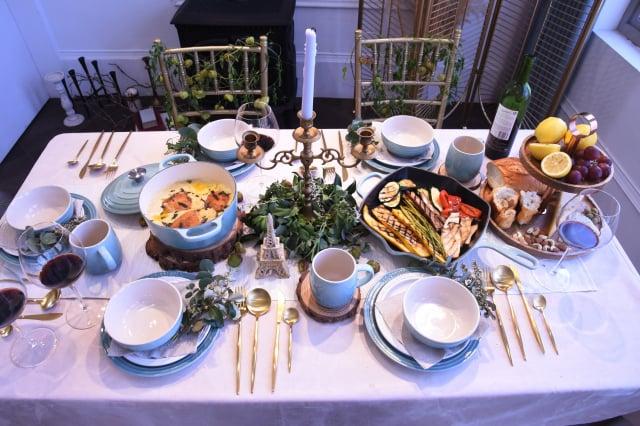 世界美食與異域香料風味共築浪漫饗宴。(攝影/記者黃宗茂)