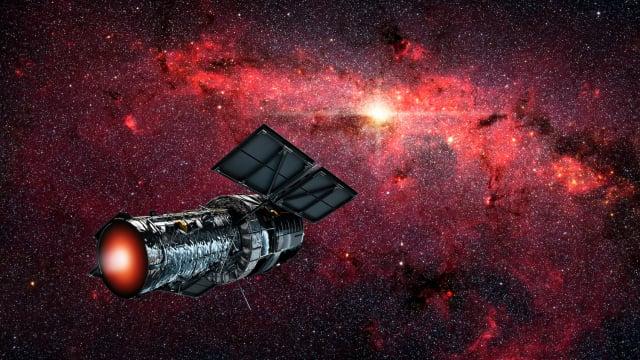 用於星際旅行的太空飛船示意圖。(ShutterStock)