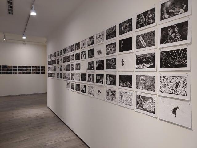 李迪權木刻版畫作品展。