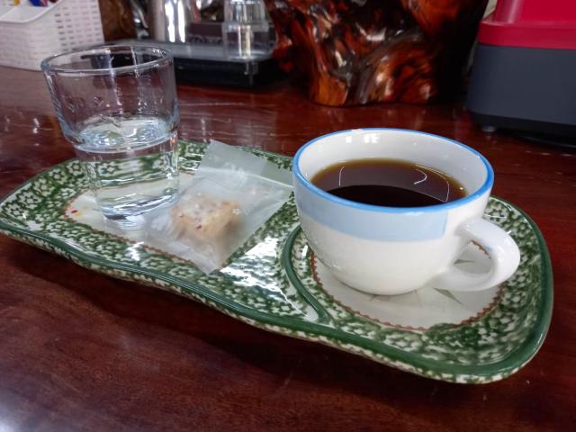 一杯多納咖啡,裝著主人一山沐的用心。