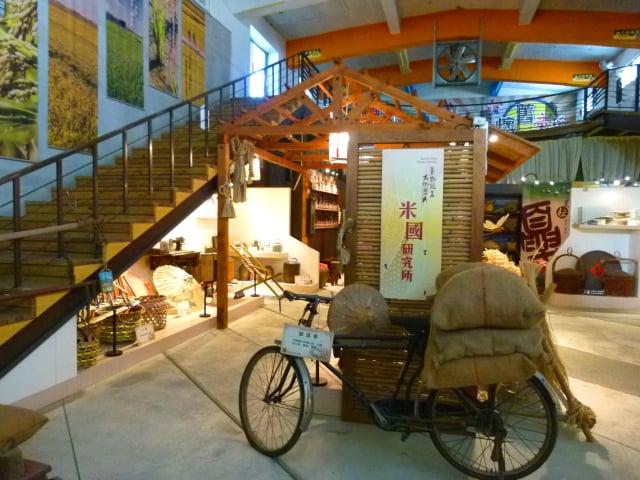 米國學校研究所,蒐集展示各種農村文物。
