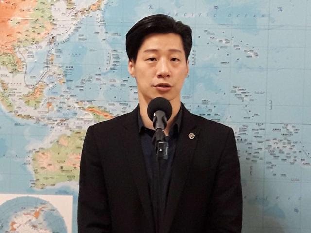 無黨籍立委林昶佐表示,樂於看到國際社會有越來越多對臺灣正面發展的方向。(中央社)
