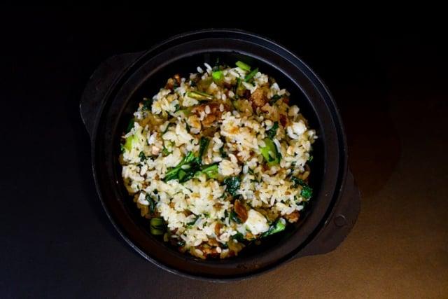 上海菜飯粒粒分明。(炒炒蔬食熱炒提供)