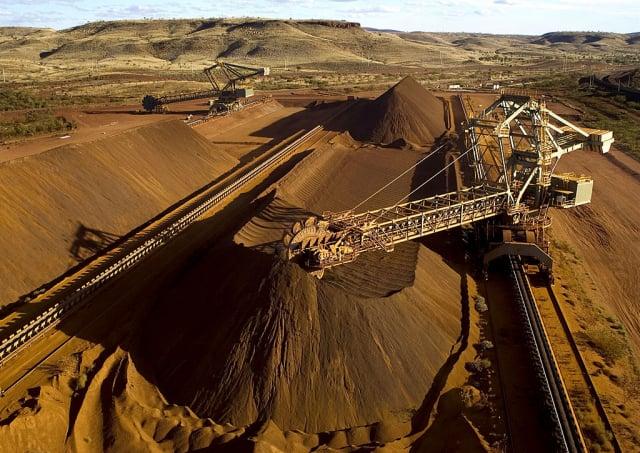 研究顯示,中共已將對澳洲資源的依賴,視為最需要多樣化的領域之一。圖為澳洲礦場。(Christian Sprogoe/AFP via Getty Images)