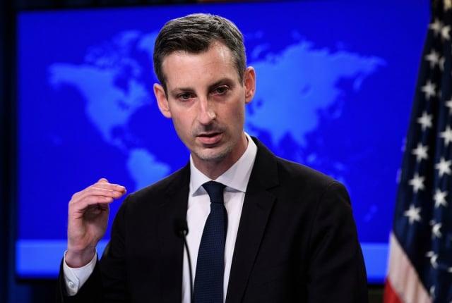 美國國務院發言人普萊斯表示,美方致力深化對臺關係,未來將考慮推進雙邊關係的高階官員互訪機會。圖為資料照。(NICHOLAS KAMM/POOL/AFP via Getty Images)