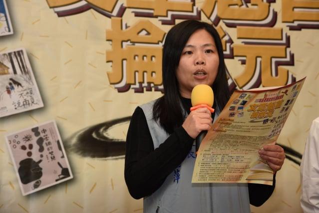 公館國中校長方麗萍說明試場規則