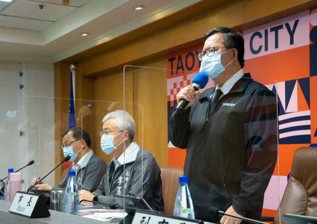 桃園市長鄭文燦表示,桃園不排除進入二階限水。(桃園市府新聞處提供)