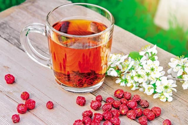 山楂陳皮飲品,能解除油膩、促進消化、消除腸胃積滯。(Shutterstock)