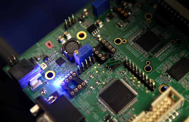 半導體不只是臺灣護國神山,也是支撐全球數位經濟發展基石。(Justin Sullivan/Getty Images)