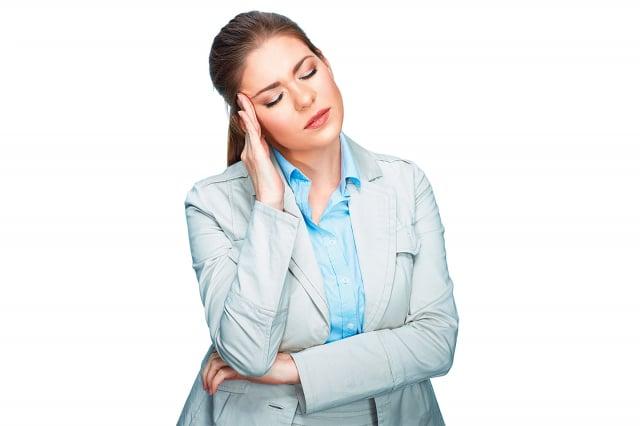 張力性頭痛依照發生頻率和時間可分為下列3種。(Fotolia)