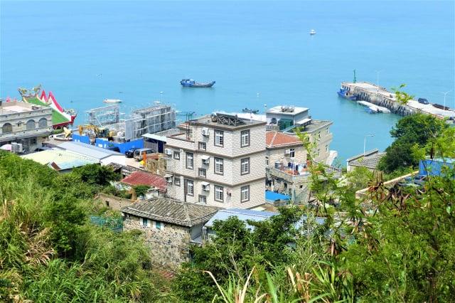 北竿的橋仔漁村是距離中國福建最近的村落。(攝影/鄧玫玲)