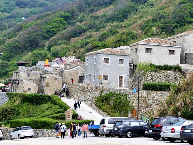 依山臨海而建的芹壁村。(攝影/鄧玫玲)