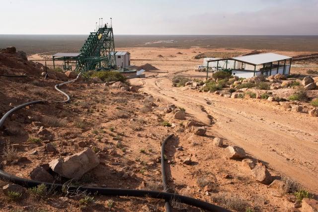 圖為稀土礦場。(RODGER BOSCH/AFP via Getty Images)