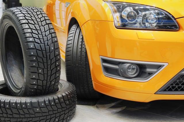 「輪胎」是影響汽車快速、有效煞車的最重要元素之一。(Fotolia)