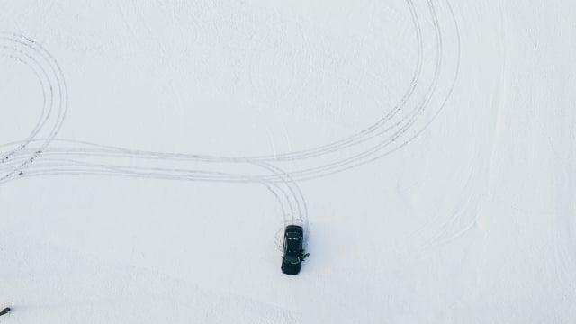 雪地試車。(Pixabay)