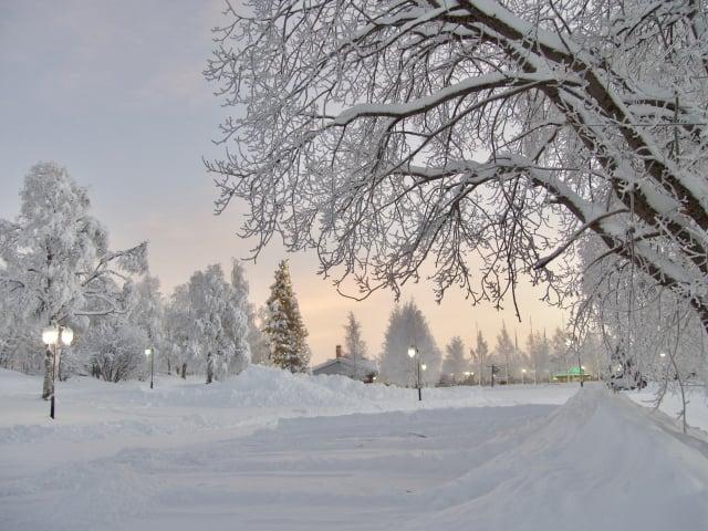 阿爾耶普盧格的冬季雪景。(Shutterstock)