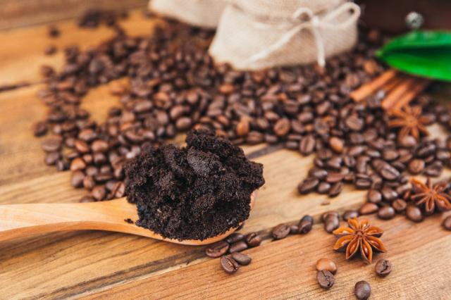 據研究顯示,在貧脊土地鋪上咖啡果渣,能幫助林地恢復。(Shutterstock)