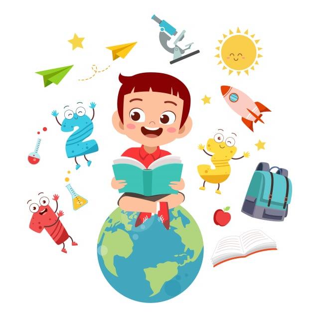 學海無涯,祝福我的男孩在學習路上,找到更多樂趣跟成就感。不管前方迷茫困頓的漫漫長路,要走多久多遠,我願與你偕行、努力向前。(123RF)
