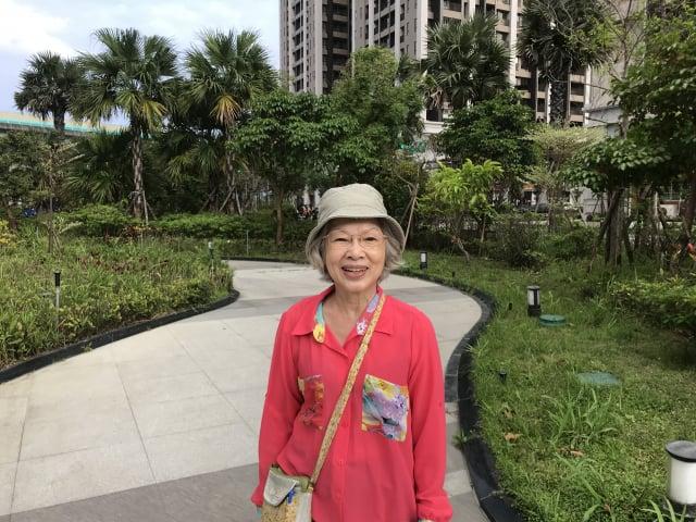 現年72歲的詹淑娥女士。(攝影/朱孝貞)