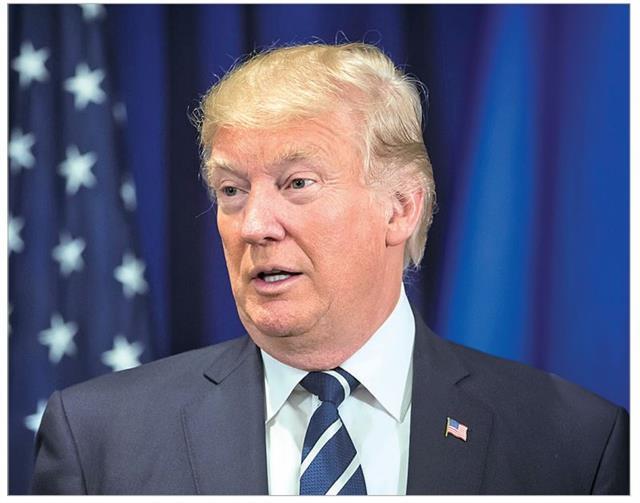前總統唐納德.川普(Donald Trump)。(123RF)