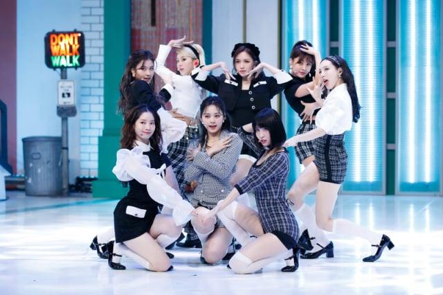 韓國人氣女團TWICE資料照。(遠傳friDay影音提供)