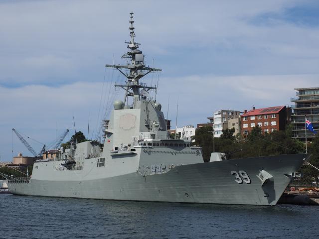 圖為澳洲海軍荷巴特級驅逐艦。(Nick-D/維基百科)